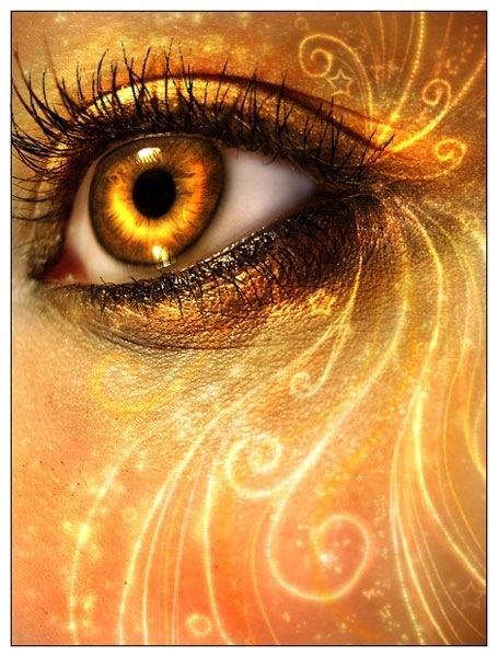 Глаза в огне