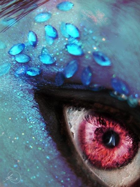 Гламурные глаза