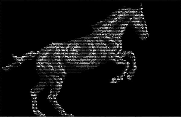 лошадь из текстов