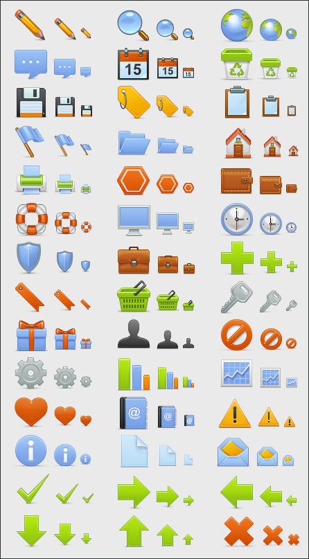 Набор базовых иконок