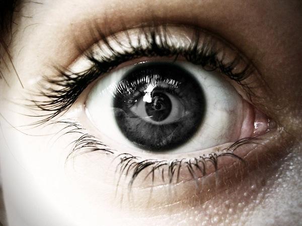 Отражение в глазах