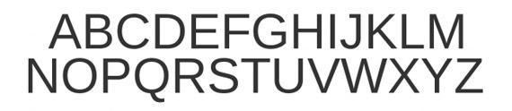 округлый жирный шрифт