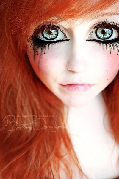 Глаза бумажной куклы