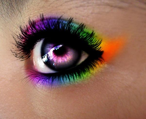 Радужные глаза