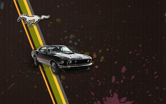 Автомобиль Mustang