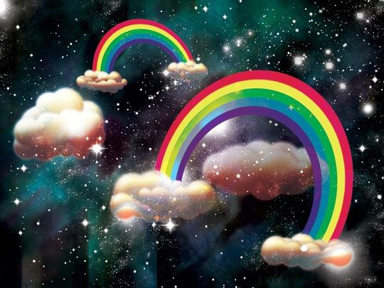 Винтажная радуга