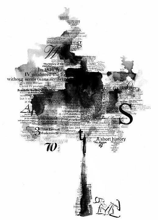 типографическое дерево