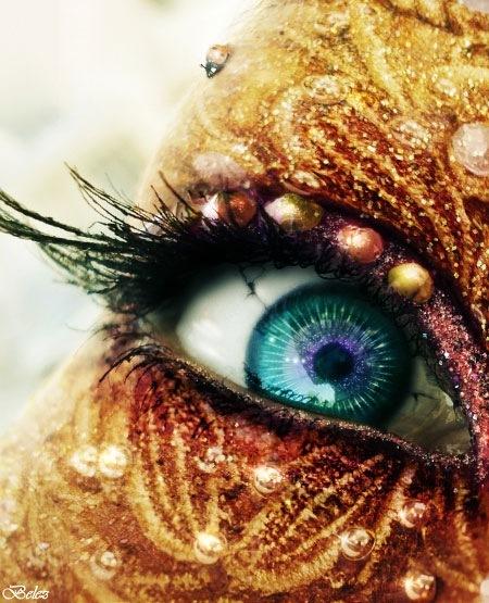 Глаза золотой феи