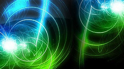 Абстрактные линии света