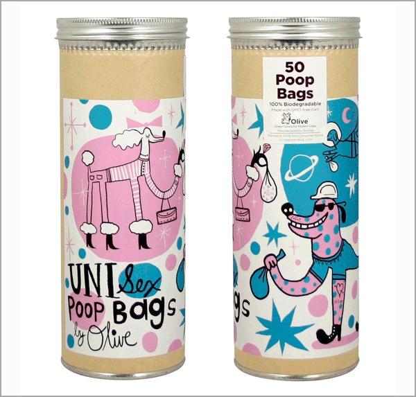 яркая упаковка продукции для собак