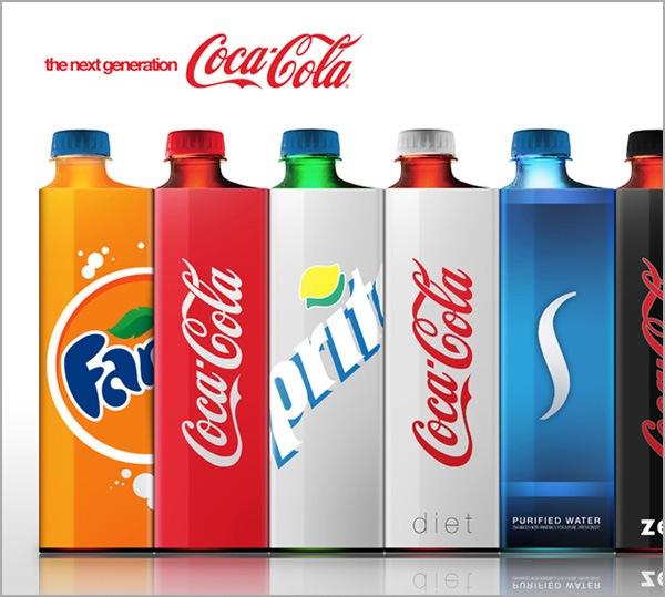 креативные пластиковые бутылочки для компании кока-кола