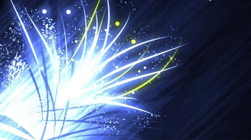 4 абстрактные кисти световых эффектов