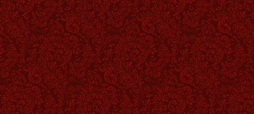 Красные цветочные паттерны
