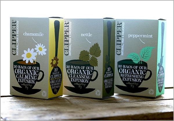 дизайн упаковок для чая