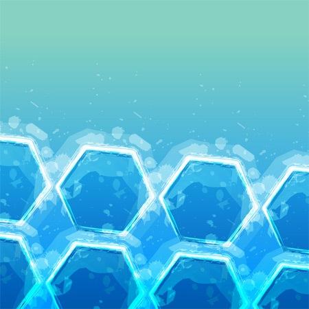 Кубики льда для iPad