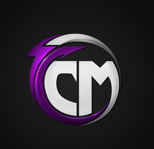 яркие оттенки в дизайне лого