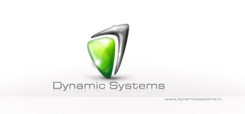 логотип с эффектами блеска