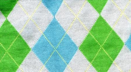 Ромбы на свитере