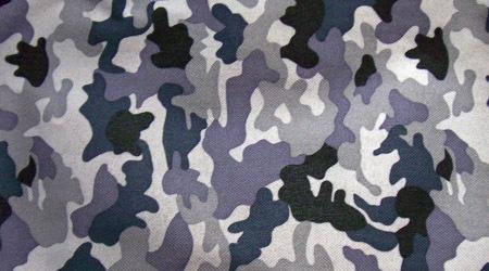 Камуфляжная текстура в синих тонах