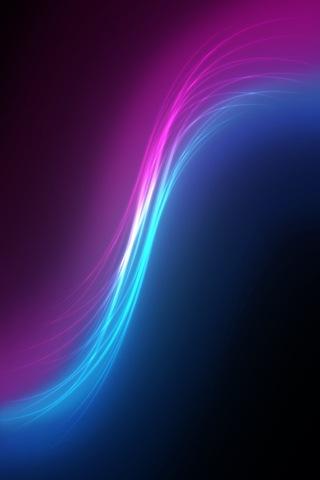 яркие абстрактные iphone обои