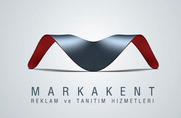 Дизайн лого в виде буквы М