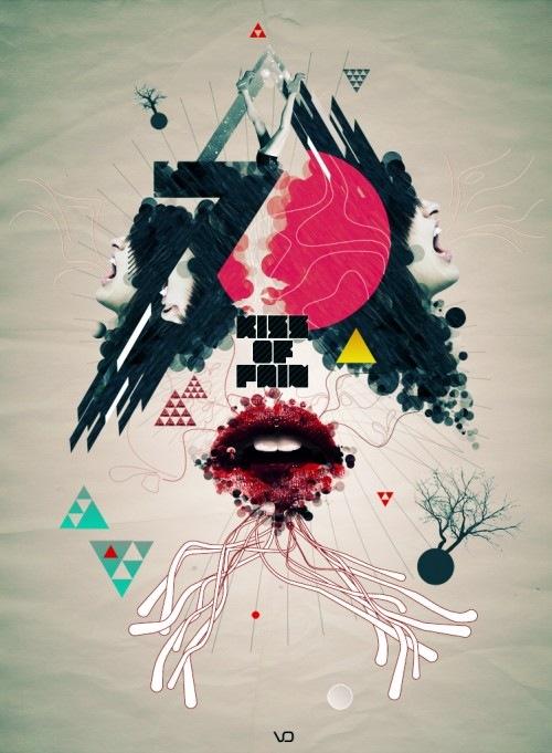 постер в ретро стиле