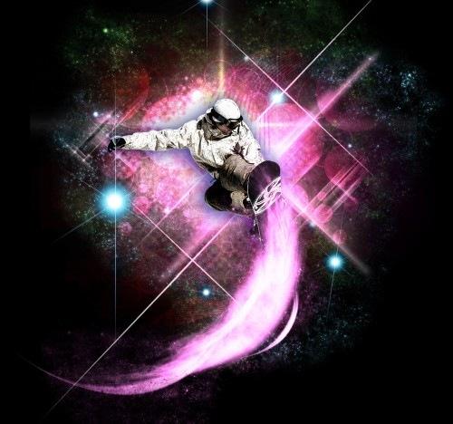 элементы блеска и космоса