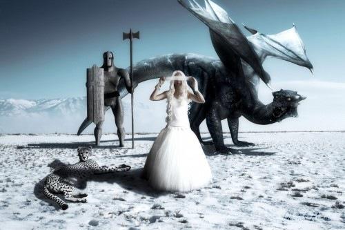 дракон и рыцарь