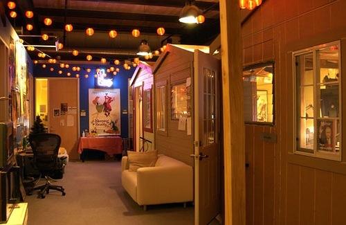 Сказочный офис Pixar
