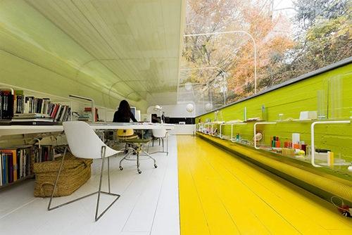 Офис архитектурной компании Selgas Cano Architecture, Испания