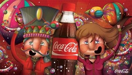 реклама coca-cola