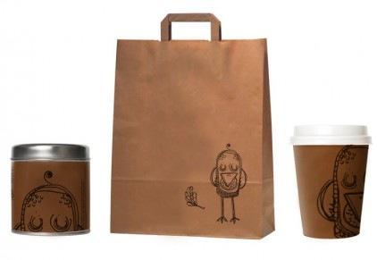 пакеты для кофе