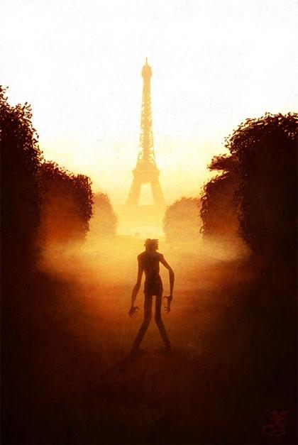 зомби в Париже