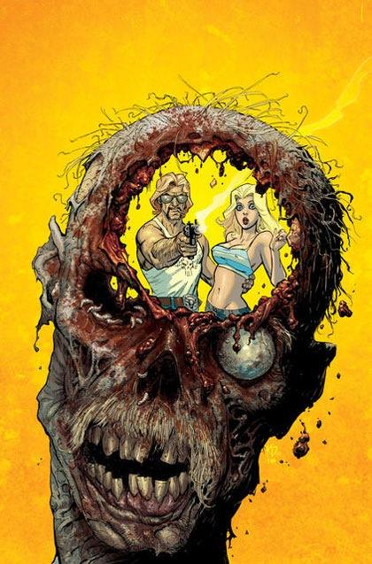 зомби с дырой в голове