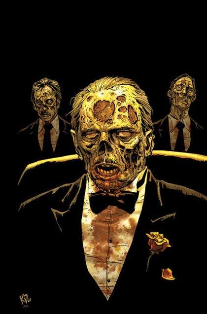 эллегантный зомби