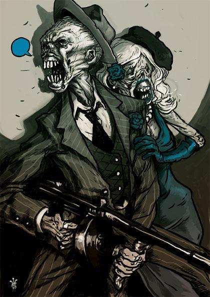 винтажные зомби