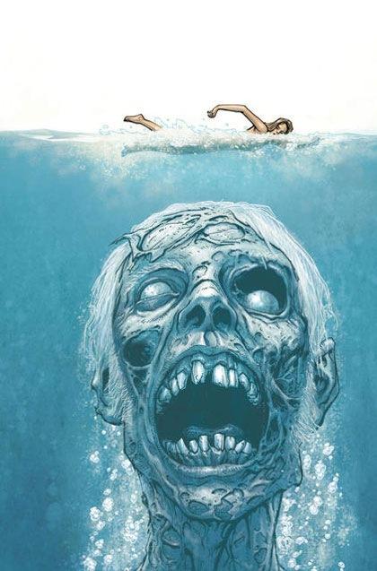 зомби под водой