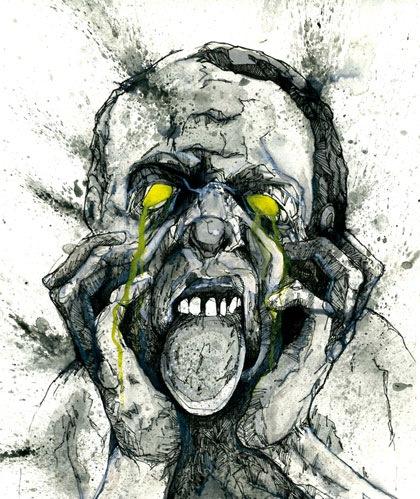 мерзкий зомби