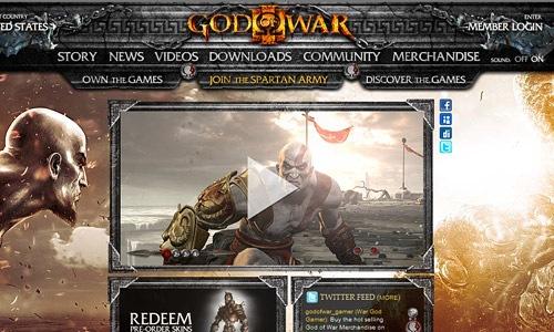 Игра Бог войны