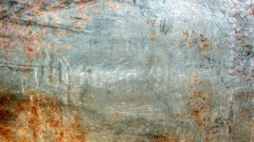 Светлая текстура металла с ржавчиной