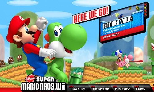 Братья Супер Марио Wii
