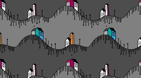 Каракули города