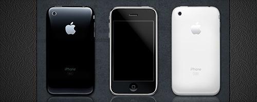 PSD телефона iPhone 3G