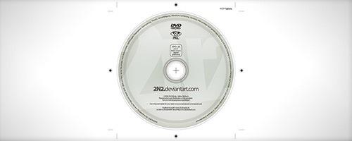 DVD с этикеткой