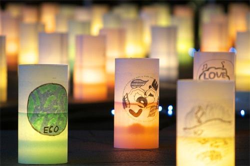 блеск свечей