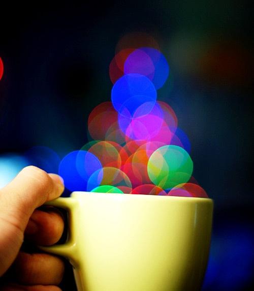 блеск из чашки