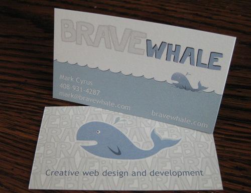 Иллюстрации на визитке