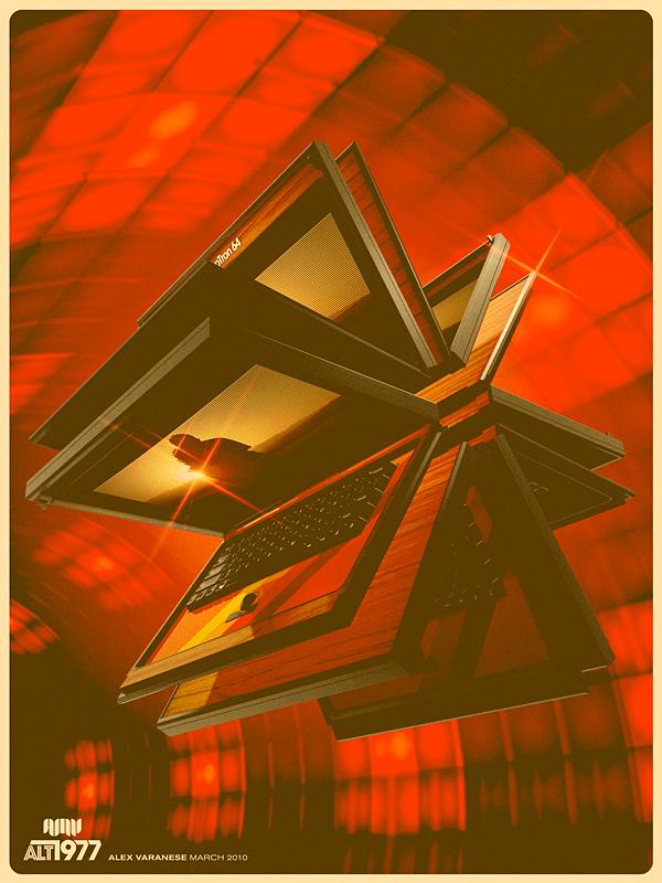 ретро ноутбук