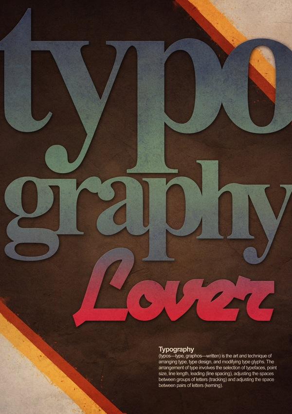 футуристическая типографика