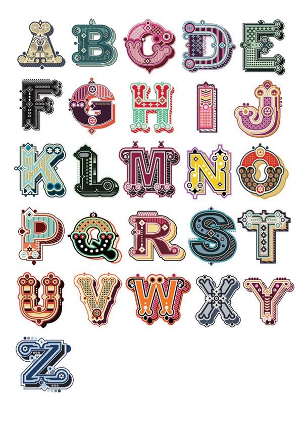 иллюстрированный алфавит